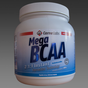 BCAA Instant 2:1:1 Fermented 400g - citron + zdarma BCAA 2:1:1 Micronized 100 tablet